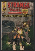 Old 1965 American Comic book Strange tales 138